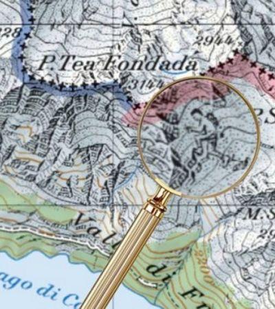 Por décadas, cartógrafos esconderam ilustrações nos mapas oficiais da Suíça