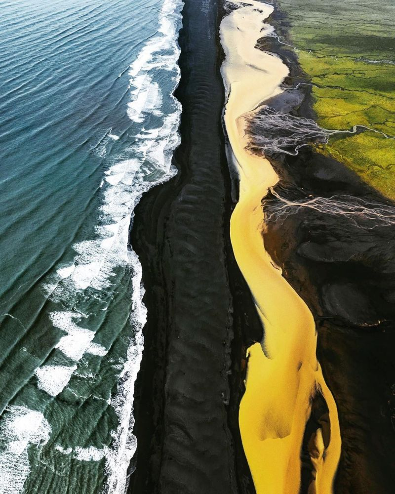imagens aéreas islândia 1