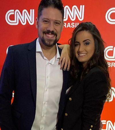 Mari Palma e Phelipe Siani, da CNN Brasil, são afastados por suspeita de coronavírus