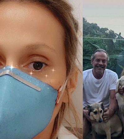 """Luisa Mell com Covid-19 e marido internado: 'Vocês não tem ideia do pulmão em 1 semana. É muito sério"""""""