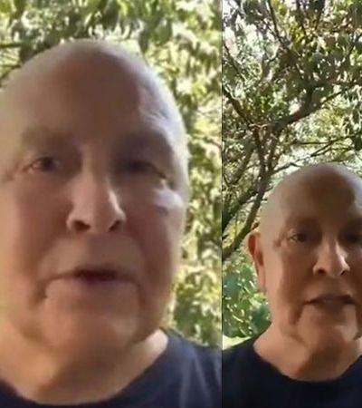 Monja Coen grava vídeo pistola com papo de fim de quarentena: 'Deixem de ser gananciosos!'