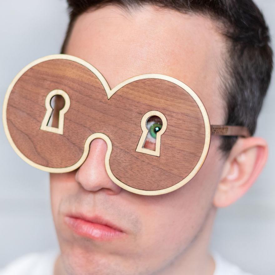 óculos indiscreto