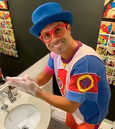 Pedro do 'Castelo Rá-Tim-Bum' reaparece ensinando você a lavar as mãos; veja vídeo