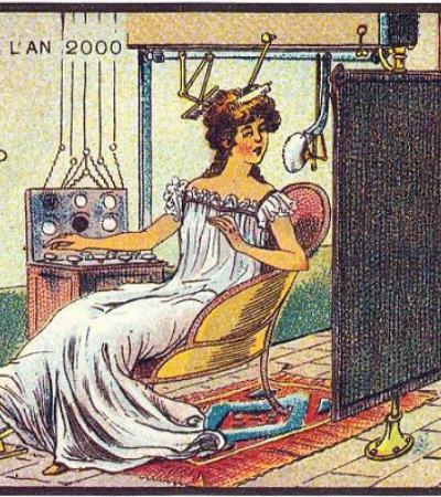 Era assim que as pessoas do passado imaginavam que estaríamos vivendo no século 21