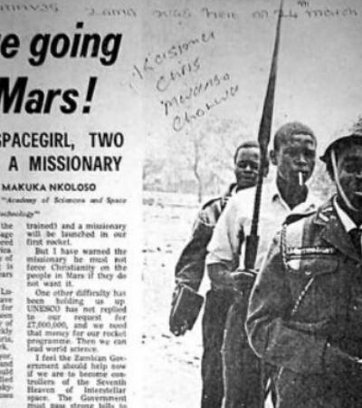 Um mergulho pelo esquecido programa espacial da Zâmbia dos anos 1960