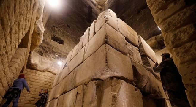 restauração pirâmide egito 1