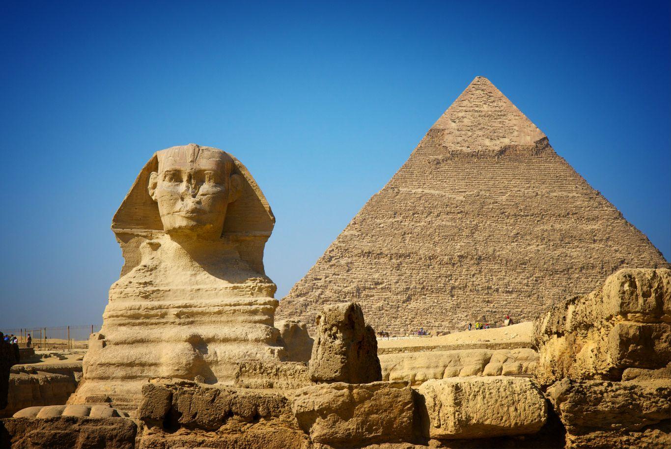 restauração pirâmide egito 2