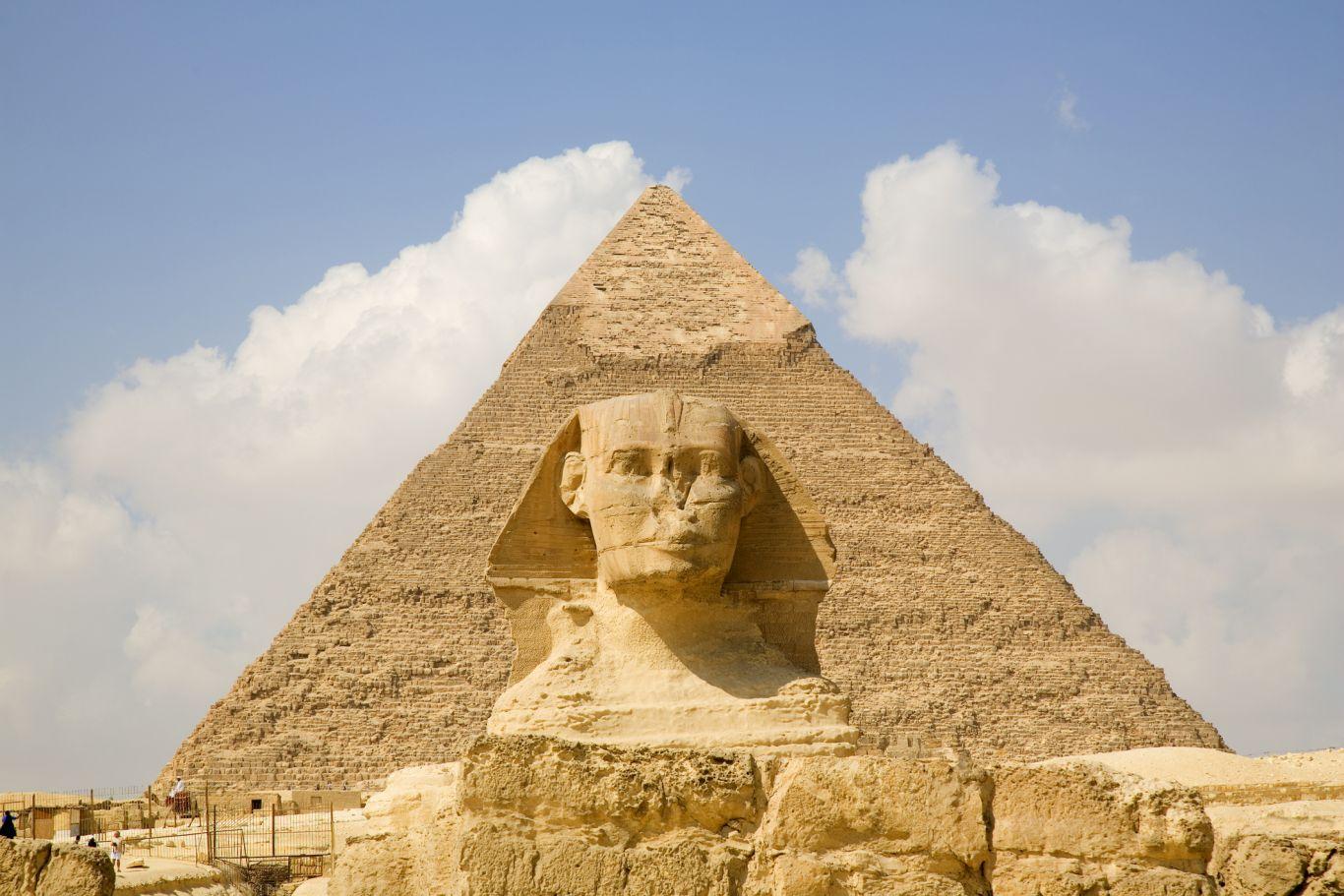 restauração pirâmide egito 3