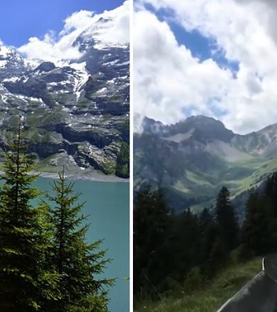 Vídeo de tobogã que desce montanha dos Alpes Suíços vai te fazer sentir o vento no rosto
