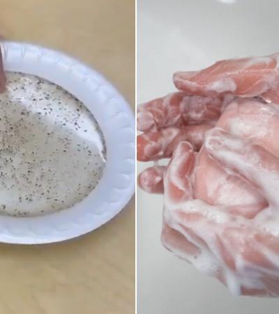 Experimento científico divertido que ensina a crianças a importância de lavar as mãos