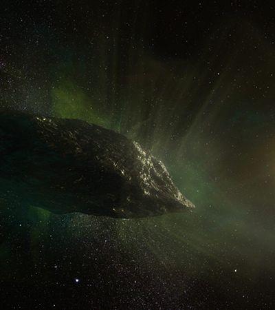 A história do primeiro cometa 'alienígena' identificado no sistema solar