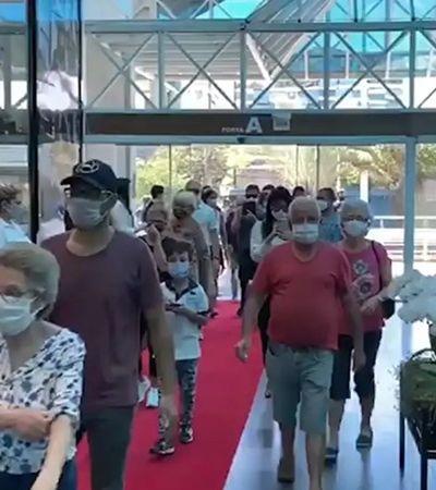 Blumenau tem aumento de casos de coronavírus após aglomeração em shopping