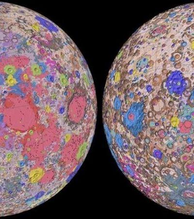 Cientistas divulgam mapa inédito com tudo que você queria saber sobre a Lua