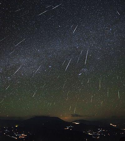 Olhe para cima: abril terá encontros planetários e chuva de meteoros