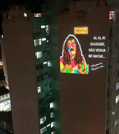 Cine Janela: artistas de Salvador se juntam para exibir filmes nas paredes de prédios