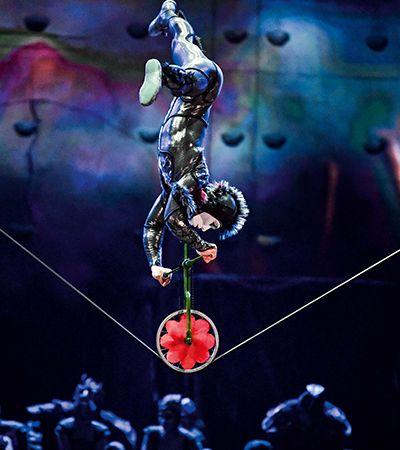 Cirque du Soleil disponibiliza espetáculos, tutorias de maquiagem e playlists online