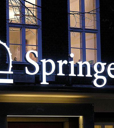 Editora Springer libera download dos mais caros e melhores livros científicos do mundo