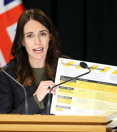 Primeira-ministra da Nova Zelândia corta o próprio salário para combater pandemia