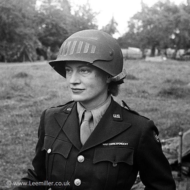 Lee Miller na França, em 1944 © Lee Miller Archives