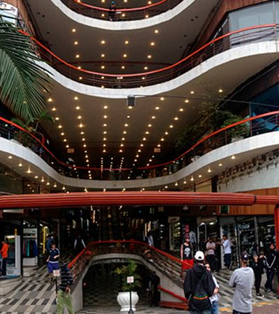 Coronavírus faz Galeria do Rock fechar lojas; 400 pessoas foram demitidas