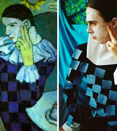 Pessoas em casa reproduzem quadros clássicos na melhor competição da quarentena