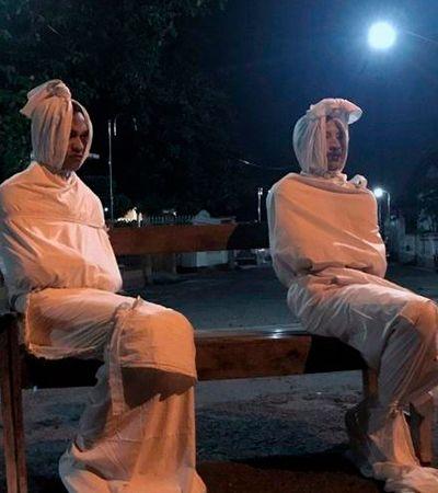Indonésia pede ajuda de 'fantasmas' para manter pessoas em quarentena; entenda