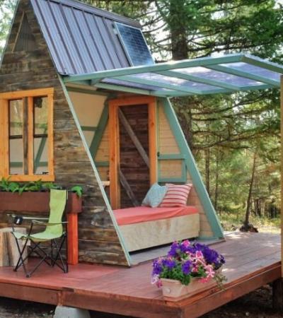 Blogueiro e designer faz tutorial de como construir mini casa com as próprias mãos