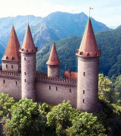 Designers e arquitetos 'restauram' virtualmente ruínas de castelos europeus