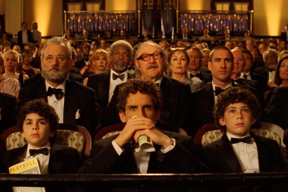 cena do filme de Wes Anderson