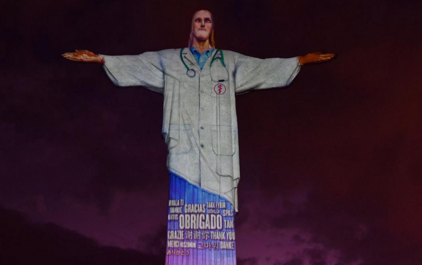 cristo redentor jaleco