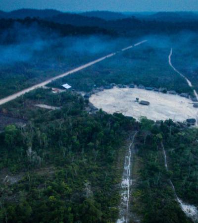 Desmatamento da Amazônia registra aumento de 51% em março