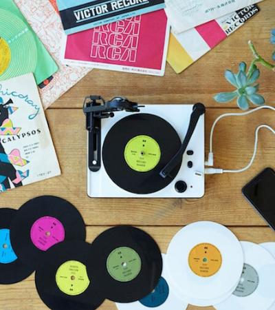 Gravador de vinil DIY permite ter um estúdio em casa