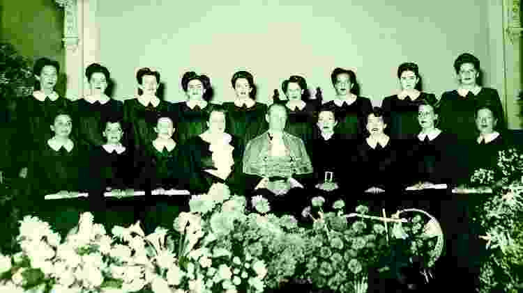 Foto da turma da Escola de Enfermagem da USP