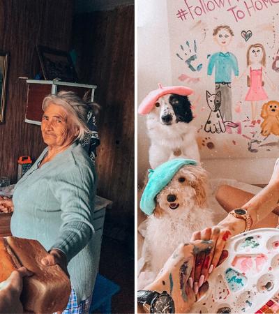 Fotos estilo 'follow me to' criadas em casa são hilárias e geniais
