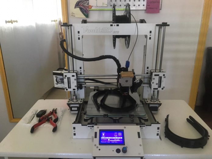impressão 3D máscaras coronavírus 5