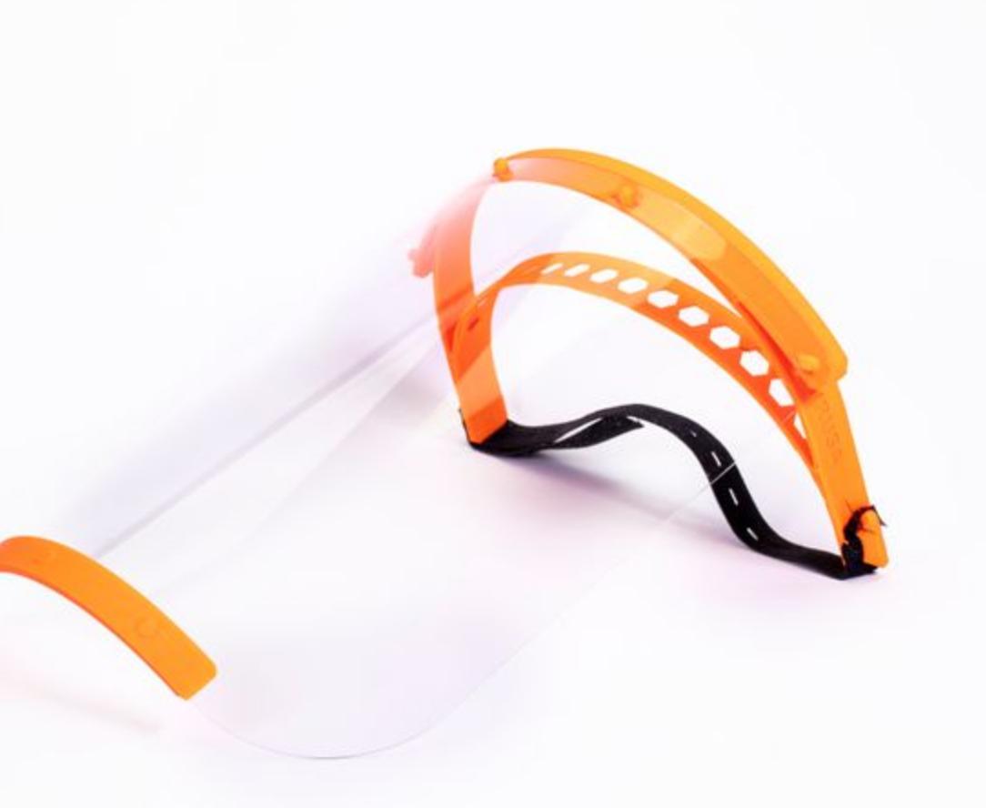impressão 3D máscaras coronavírus 6