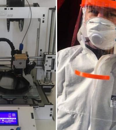 Rede brasileira de makers usa impressão 3D para produzir máscaras em escala