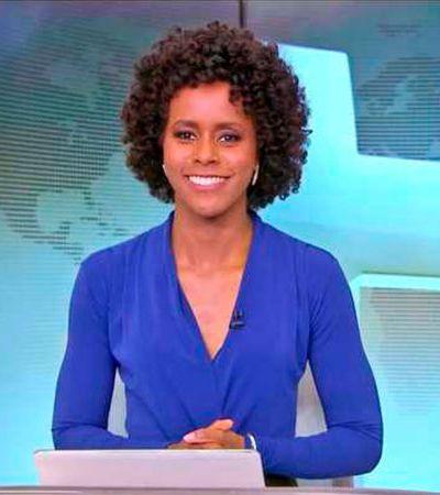Maju Coutinho quer processar racista por dizer que ela só está na TV pela cor, diz coluna