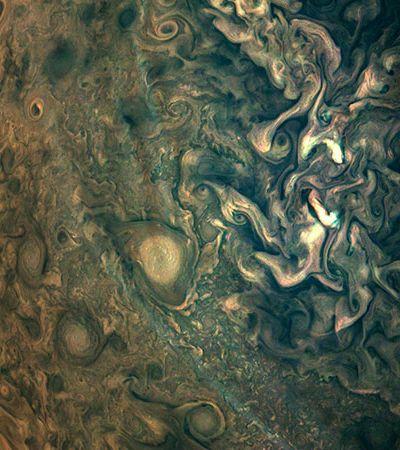Nasa revela novas fotos impressionantes de Júpiter