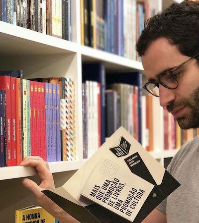 Pedro Pacífico, do 'Bookster', fala sobre como venceu o coronavírus e indica livros para quarentena