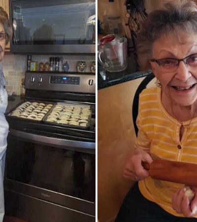 Aos 97 anos ela aproveitou a quarentena para começar canal de culinária no Youtube
