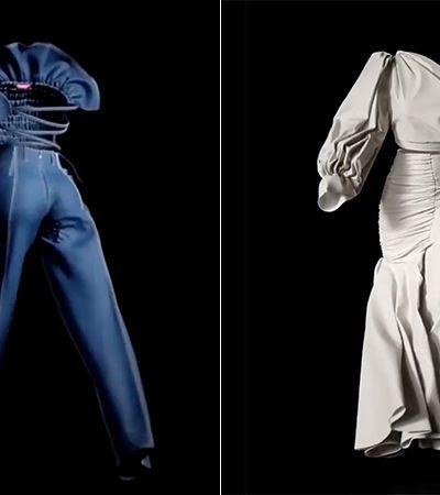 Estilista congolesa altera rumos da moda com desfile em 3D durante pandemia