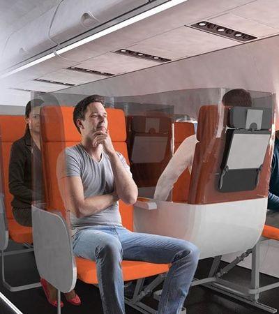 Coronavírus: viajar de avião numa redoma de vidro pode ser rotina pós-pandemia