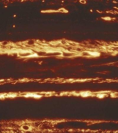 Astrônomos usam mosaico para construir foto impressionante de Júpiter