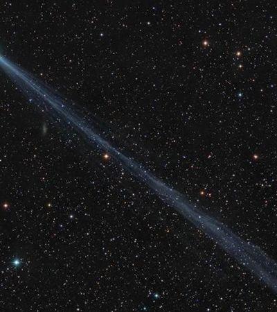 Cometa verde com cauda de 17 milhões de quilômetros poderá ser visto a olho nu