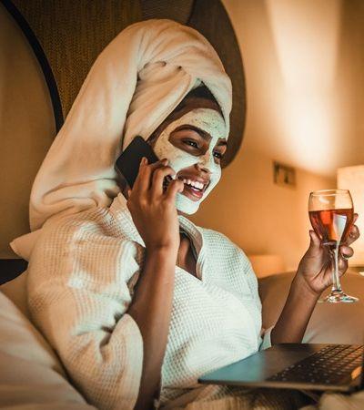 Quarentena: marca promete vinho em 2 horas para happy hour online