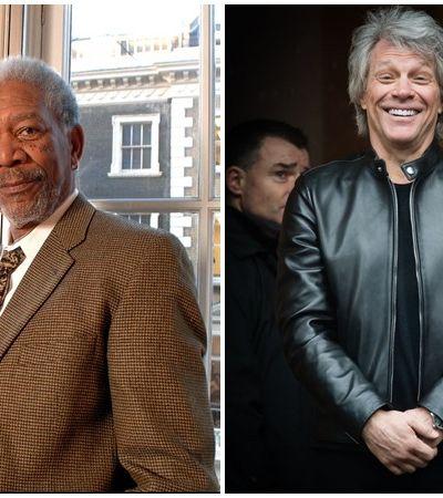 Bon Jovi anuncia live de quarentena com participação de Morgan Freeman