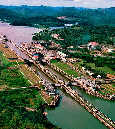 Canal do Panamá está ameaçado – e não é culpa do coronavírus