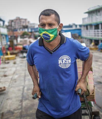 Estudo coloca Brasil como epicentro do coronavírus com 3 milhões de casos