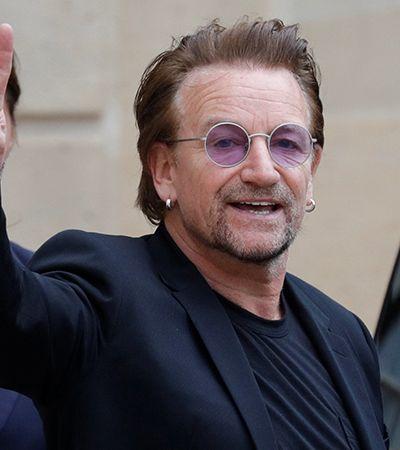 Bono faz 60 anos e cria playlist com músicas que salvaram sua vida